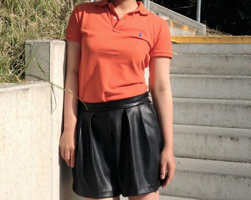 Orange blouse ideas